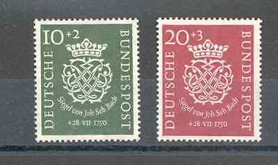 Germany - Complete Set of Year 1950 MH* (J.S.Bach Anniversary of the Death)