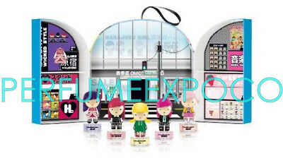 HARAJUKU LOVERS WICKED STYLE 5 Pieces Gift Set Women - 0.33 oz / 10 ml EDT SPRAY - Lovers Gift Set