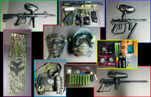 paintball guns / gear package (possible trade for KAYAK)