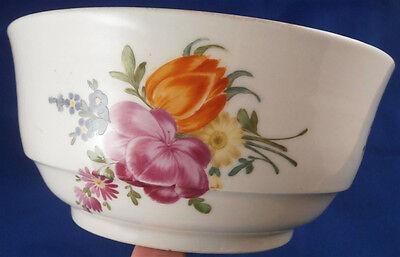 Antique 18thC Wallendorf Volkstedt Porcelain Slop / Waste Bowl Porzellan Schale - $449.10