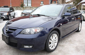 2009 Mazda3 2.3 GT LEATHER***VERY VERY LOW 51,000KM