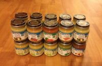 Canned baby food