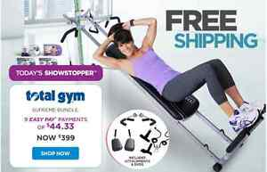 Total gym full body exerciser