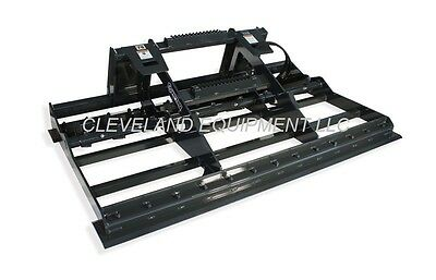 New 78 Virnig Land Leveler Attachment Skid Steer Track Loader Land Sculptor