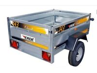 Erde 143.2 Tipping Trailer, Built Ready to go. *NEW*