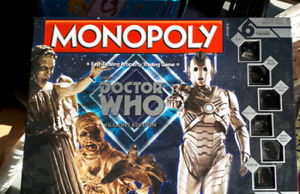 For Sale Doctor Who Monopoly Game