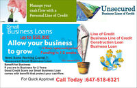 Small Business Loan of 50k