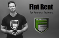 Personal Trainer - Rent Space for Flat Rent