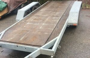 6' x 16' Flatbed Trailer Kitchener / Waterloo Kitchener Area image 1