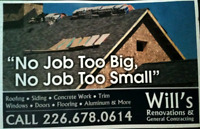 WILLS ROOFING AND RENOVATIONS