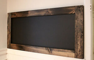 **PRICE DROP!!** Espresso Chalk Board was $120