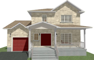 Addition over garage design and permit drawings