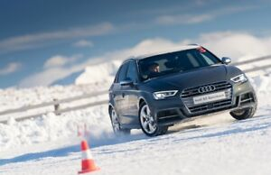 AUDI WINTER WHEEL & TIRE PACKAGE / KIT DE MAG ET PNEUS  D'HIVER