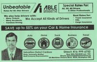 Cheaper insurance rates high/low risk drivers,car,home