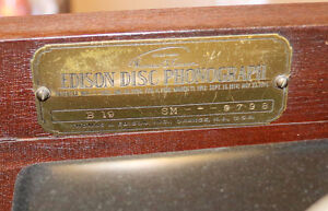 Antique Edison Diamond Disc Payer and Records, Man Cave Quality London Ontario image 9