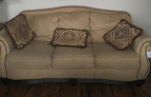 Sofa and loveseat set for sale