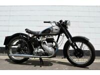 1954 BSA M21 600cc Single Cylinder Side Valve Plunger - Nice Condition