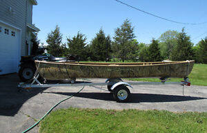 GREAT CANOE with TRAILER !!!