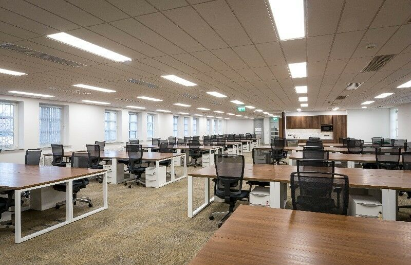 Open plan offices in Silicon Docks