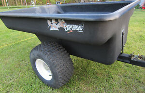 **GARDEN TRAILER~HEAVY DUTY~1500LB~20 CU/F~BRAND NEW~By EQUINOX