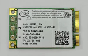 LAPTOP WIFI CARD
