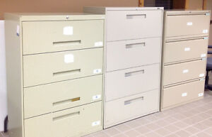 Various Lateral File Cabinets - $20 per drawer