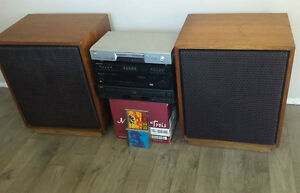 VINTAGE Pioneer High Output Amp with Huge Speakers from the 70s Kitchener / Waterloo Kitchener Area image 1