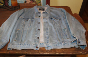 Levis levi strauss jean jacket extra large