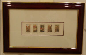 Framed Miniature  by Canadian Artist Martine Gingras-Hogue