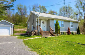 OPEN HOUSE JUNE 4 - 2bdrm/1 bath bungalow on 1.2 acre lot