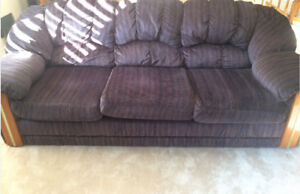 Clean Comfortable Loveseat and Sofa