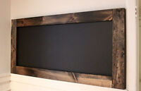 **New Price** Large Chalkboard Vintage Antique look