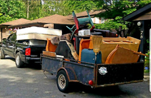 Full service Junk Removal Flat Rates, Free quotes! scrap pickup