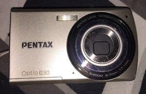 pentax optio E80 digital camera with SD card 120$ OBO