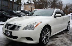 2008 Infiniti G37 Sport 6MT Coupe - Navi |Backup Cam| Certified!