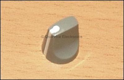 1 Pc Tektronix 366-1163-00 Knob Gray White Pointer 7000 Serie Oscilloscopes New