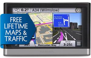 Nice,Original Garmin GPS 2597LMT;free maps;maps 2019+traffic