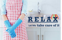 Oromocto Area Reliable and Self- Moviated Housekeeper For Hire!!