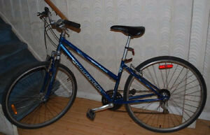 """27"""" wheels bike with front suspention"""