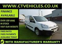 2014 14 Citroen Berlingo 1.6HDi L1 Enterprise A/C 3 X SEATS, WARRANTY top speck