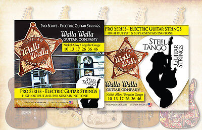 Walla Walla Guitar Company Steel Tango Strings .010 Regular Gauge