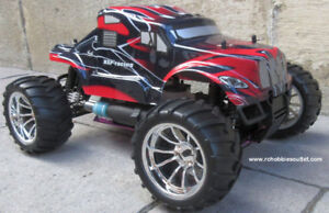 New RC Nitro Truck 1/10 Scale 4WD 2.4G RTR