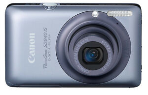 Canon Powershot Camera and Case