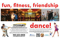 Shall We Dance? Ballroom, Salsa, Lindy Hop/Swing, danceTONE