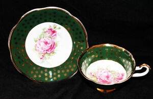 ROYAL CROWN TEA CUP & SAUCER