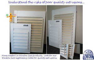 Vinyl Shutters by Window Seal