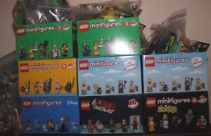 LARGE COLLECTION OF LEGO MINIFIGURES SERIES 4, 5, 7, 8, 10