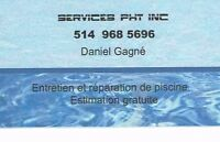 Piscines  Services PHT  inc.  (Fermetures)