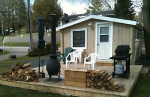 FOR RENT .. Cabin on Crowe River (north of Marmora).. March 1