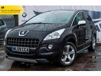 2009 PEUGEOT 3008 2,0 HDI EXCLUSIVE DIESEL GLASS PANORAMIC ROOF BLUETOOTH COLOUR
